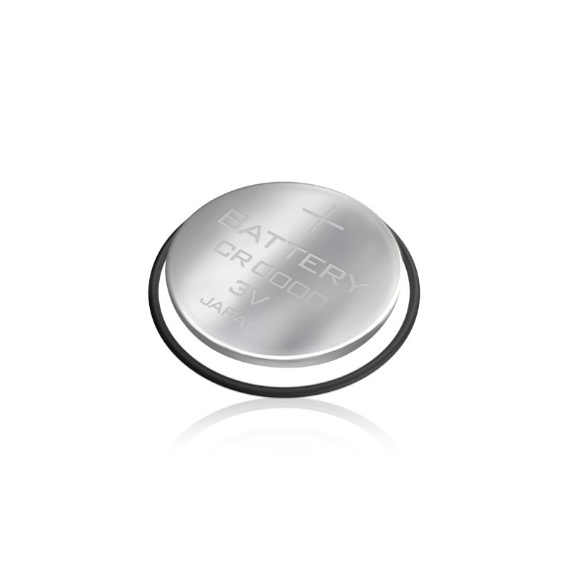 Bateria de boton con tapa