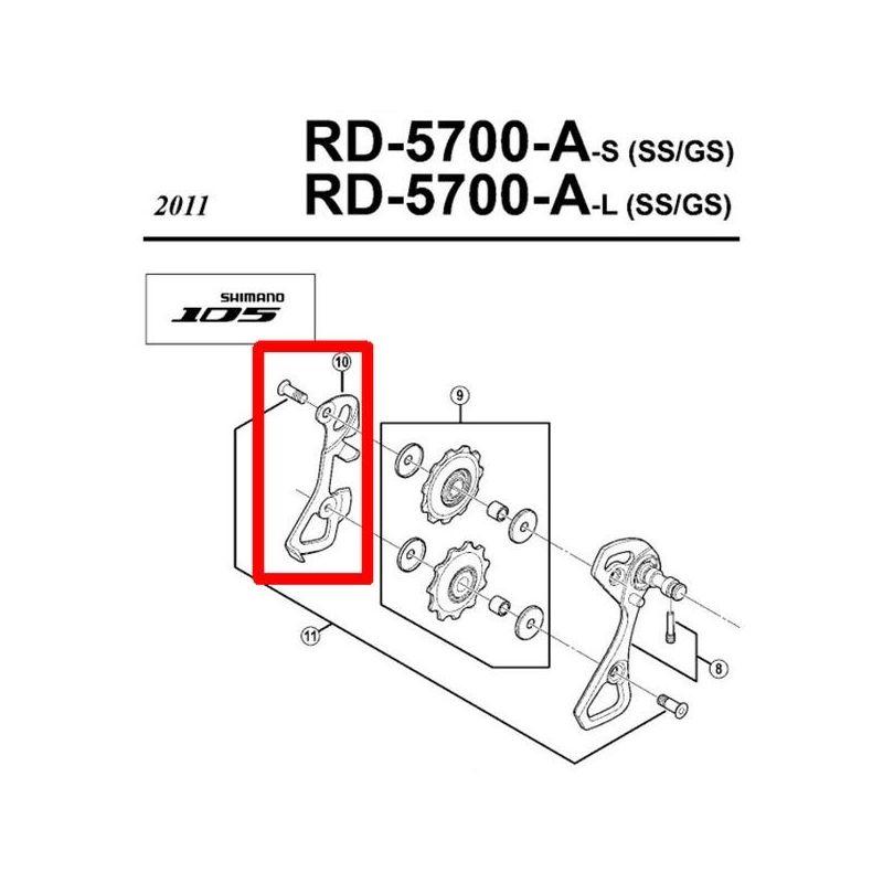 Portapoleas Interior 105 (RD-5700)