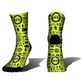 Piezas Bici Amarillo Fluor