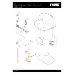 Fork Mount Adapter 20x110 Thru w/ O-Ring