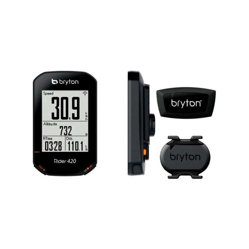 Rider 420 T & Sensor de Cadencia y Frecuencia Cardíaca