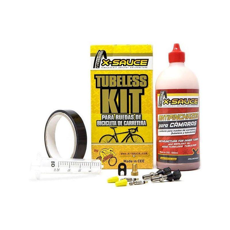 Kit Tubeless Carretera