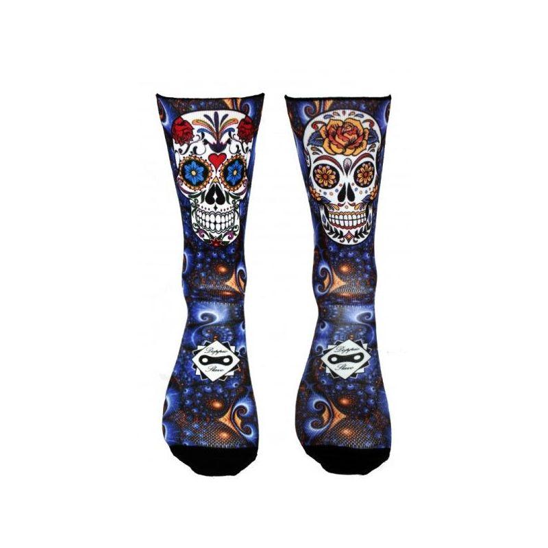 Blue Mexican Skull