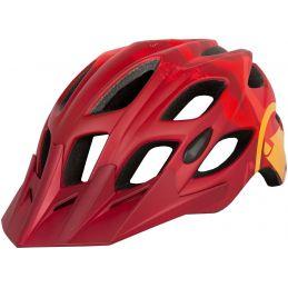 casco endura hummvee rojo