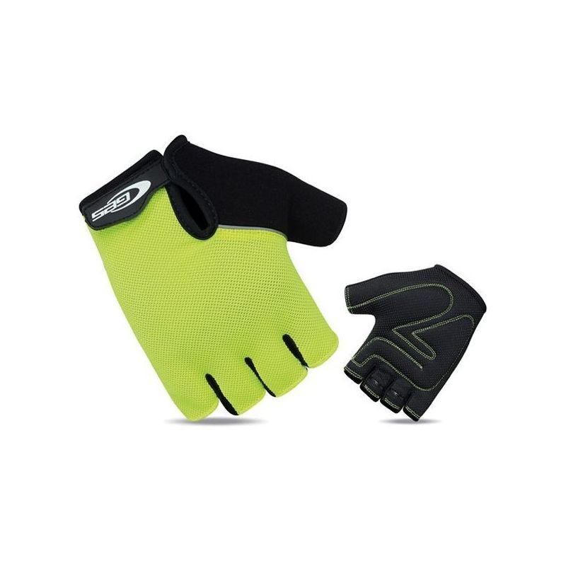 guantes cortos ges classic amarillo fluo