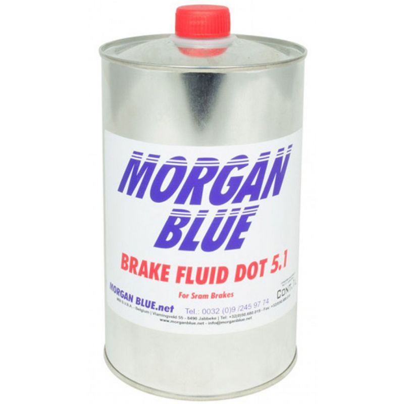 líquido de frenos dot 5.1 morgan blue