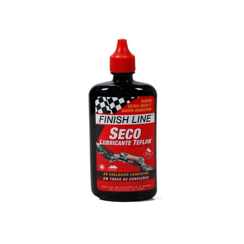 lubricante finish line seco con teflon 8oz