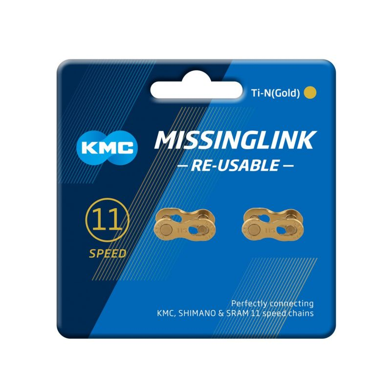 KMC MissingLink 11R Ti-N (Gold)