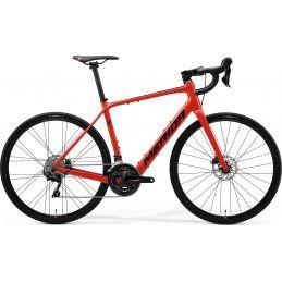 bicicleta electrica carretera merida escultura 400 rojo
