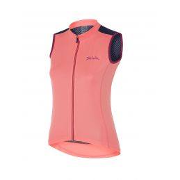 MAILLOT SPIUK RACE MUJER CORAL SIN MANGAS TALLA S