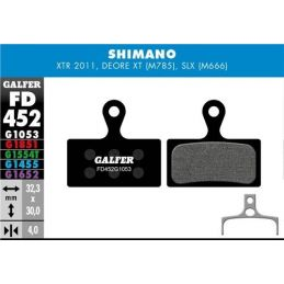 pastillas de freno galfer standard Shimano XTR M985, XT M785, SLX M666