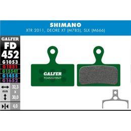 pastillas de freno galfer pro Shimano XTR M985, XT M785, SLX M666