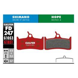 pastillas galfer advanced Shimano XT M755 - Hope Mono 4