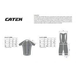 Tabla tallas Catek Race Pro