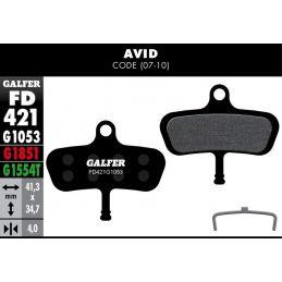 Pastillas freno Galfer Standard Avid Code