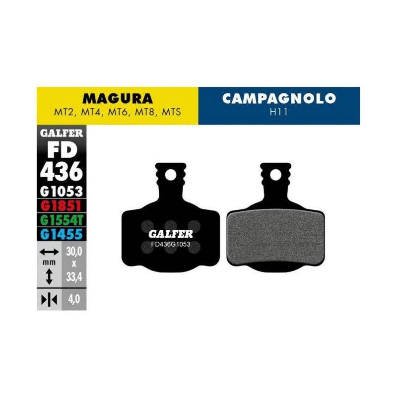 Pastillas de freno Galfer standard Magura MT2, MT4, MT6, MT8