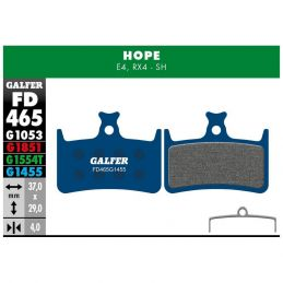 Pastillas Galfer Hope E4 y RX4