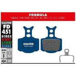 pastillas galfer Road Formula Mega The One, R0, R1, RX, RR1, T1, C1, Cura