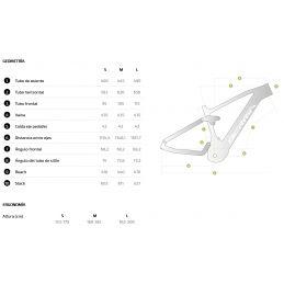 Geometría Berria Mako 120 Hybrid SL 8.1