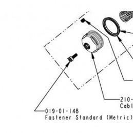 Tornillo Socket Head Cap M2.5x8mm