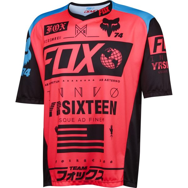 Camisetas Fox Racing Demo Union - OFERTA
