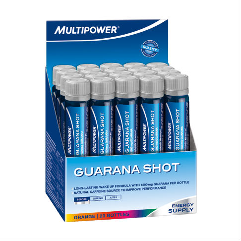 Nutrición y Entreno Multipower Guaraná Shot - OFERTA