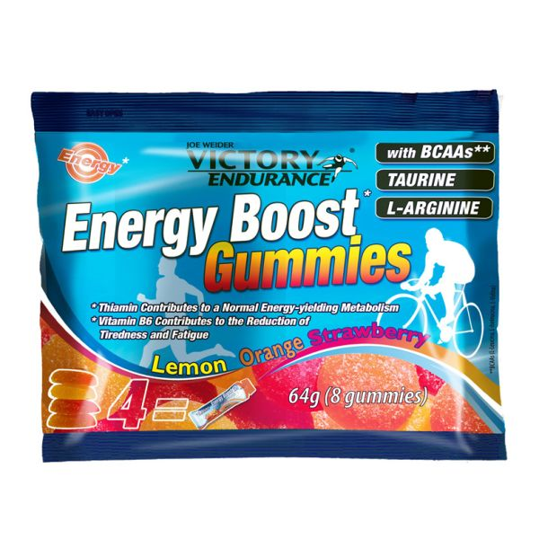 Geles Victory Endurance Energy Boost Gummies