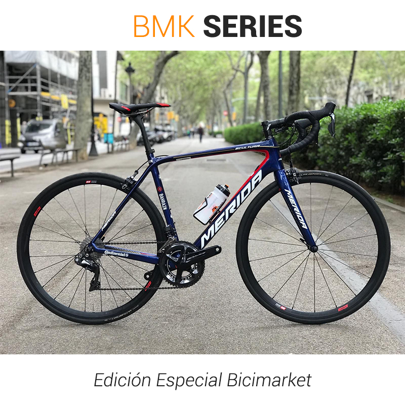 Carretera Merida Scultura Team E - BMK Series Edición Limitada