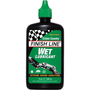 Limpiadores/Lubricantes Finish Line Cross Country Húmedo